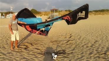 Quanto deve essere gonfiato un kite pump?