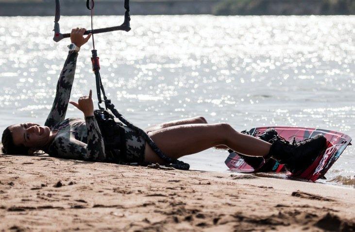 Le donne ed il Kitesurfing