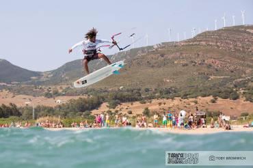 Tarifa Strapless Kitesurfing Pro 2016, vince Cozzolino