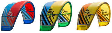 Cabrinha FX versione 2017 – Big Air, Freestyle Kite
