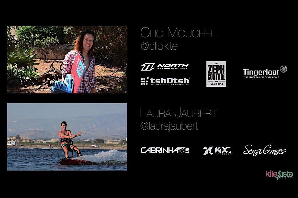 Clio Mouchel e Laura Jaubert – Allenamento estivo a Stagnone