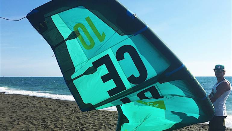 North Dice 2017- Test, Prova, Impressioni Kite Freestyle
