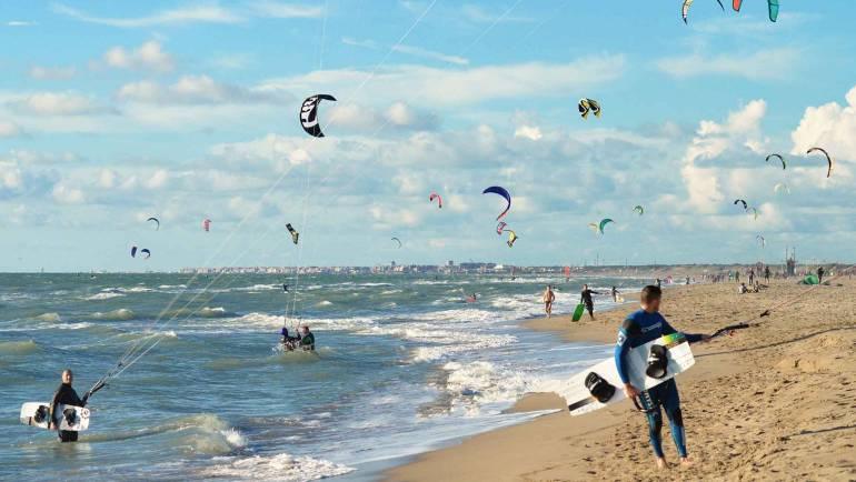 Ostia i Cancelli – Spot Kite Surf di Roma