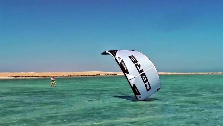 Kitesurf Tutorial | Rilancio del kite dall'acqua | Come fare