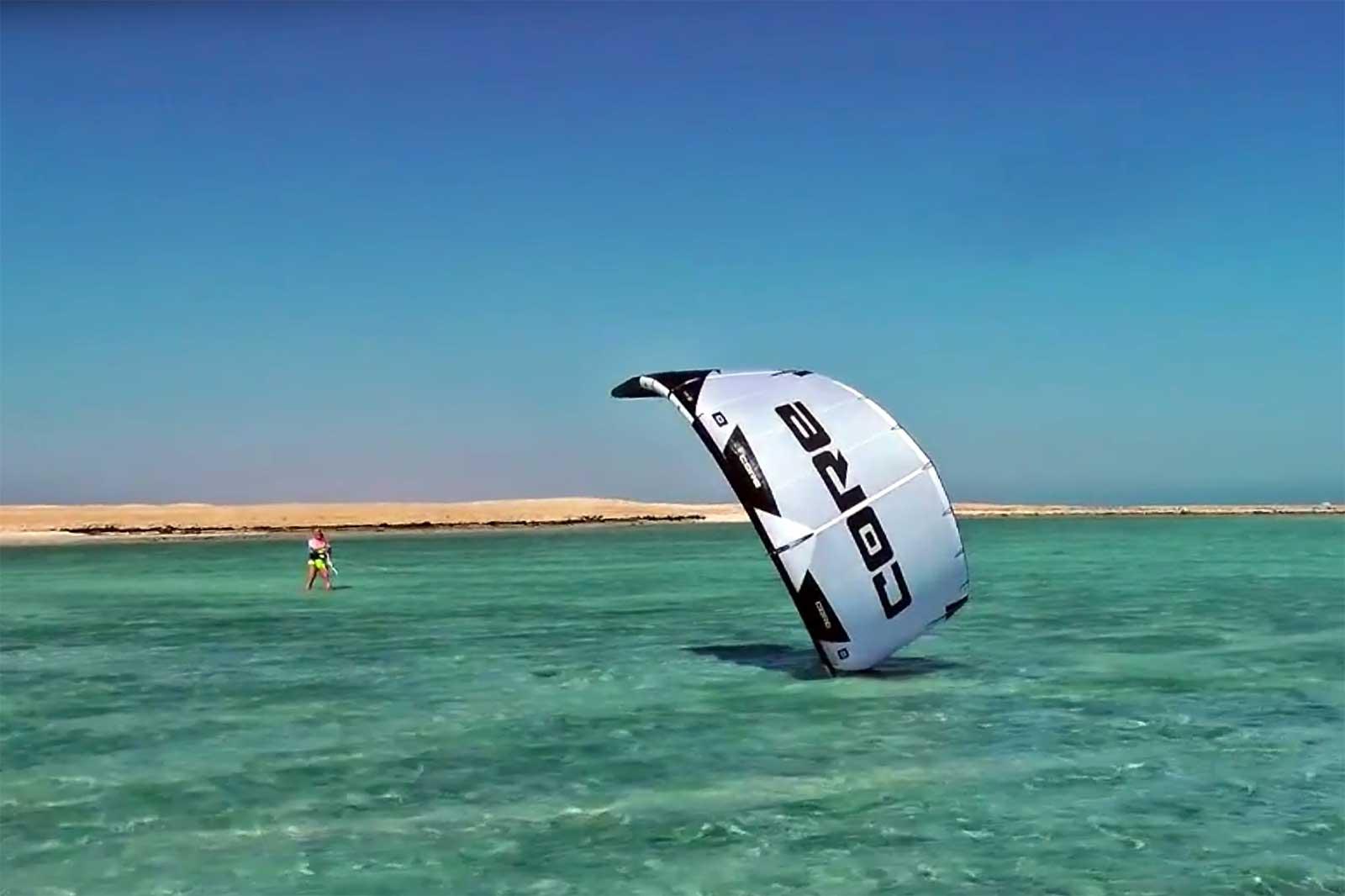 kitesurf come fare rilancio