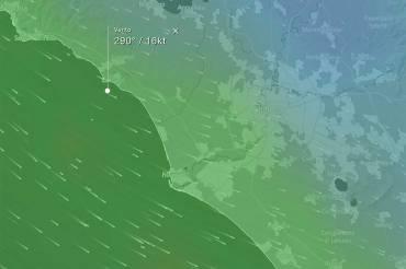 Campo di Mare | Previsione vento di Maestrale