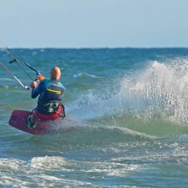 Kitesurfing Spot: Ponente e Maestrale a Foce Verde, Latina