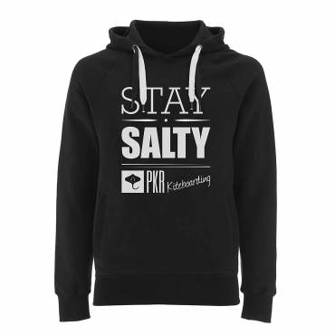 Felpa PKR Kiteboarding – STAY SALTY – 100% cotone pettinato biologico
