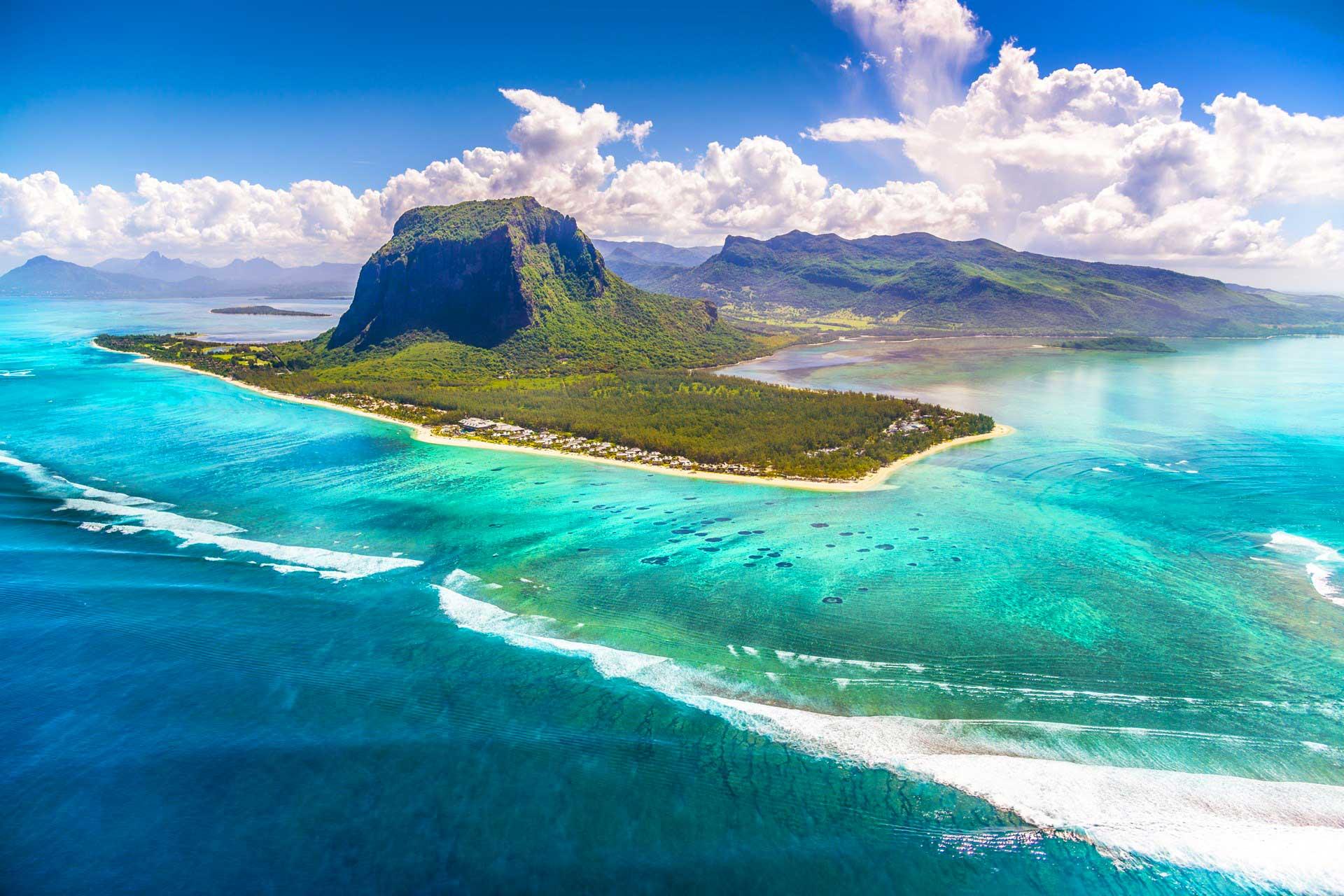 Mauritius Kitesurf freestyle wave