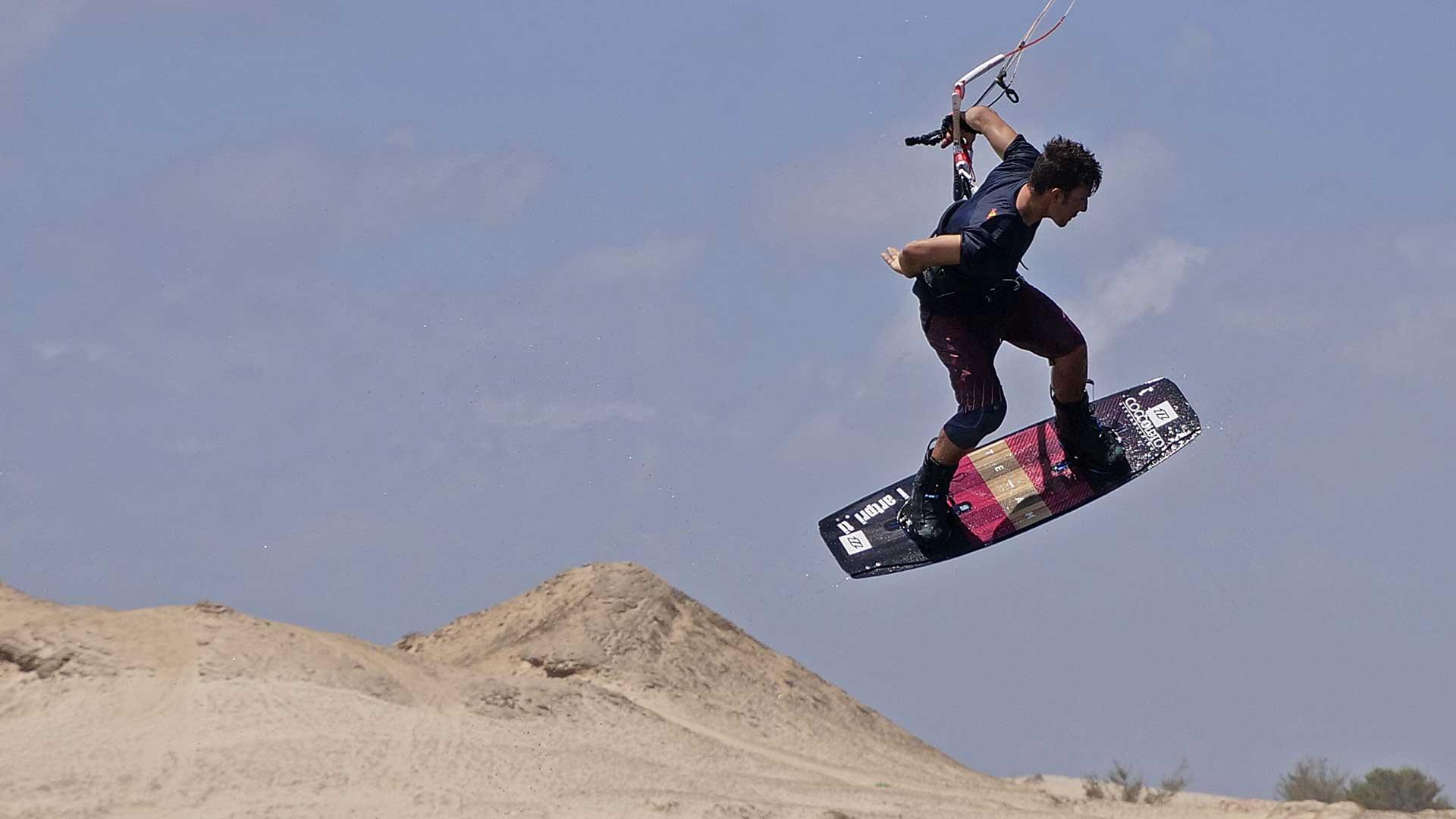Gianmaria Coccoluto kitesurf brazil