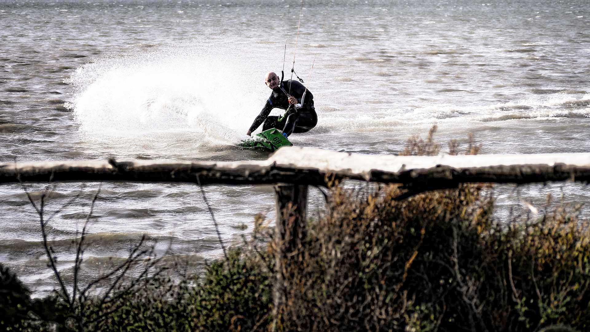 Kitesurfing-Stagnone