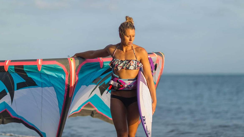 Jalou Langeree: kitesurfing nel Sud del Brasile