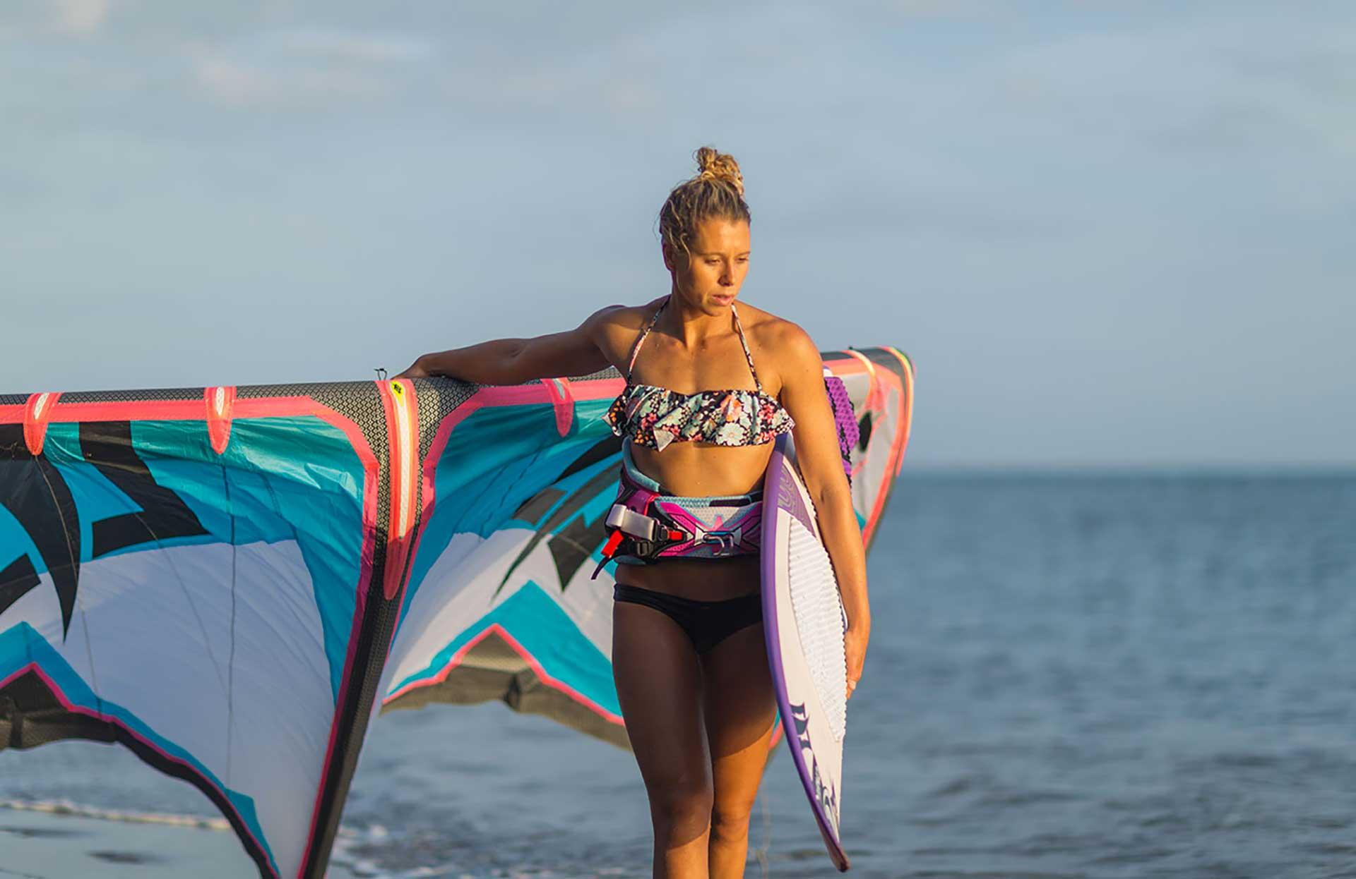 jalou langeree kite surf