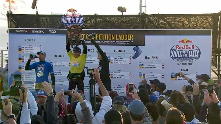 Kevin Langeree vince il Red Bull King of the Air 2018