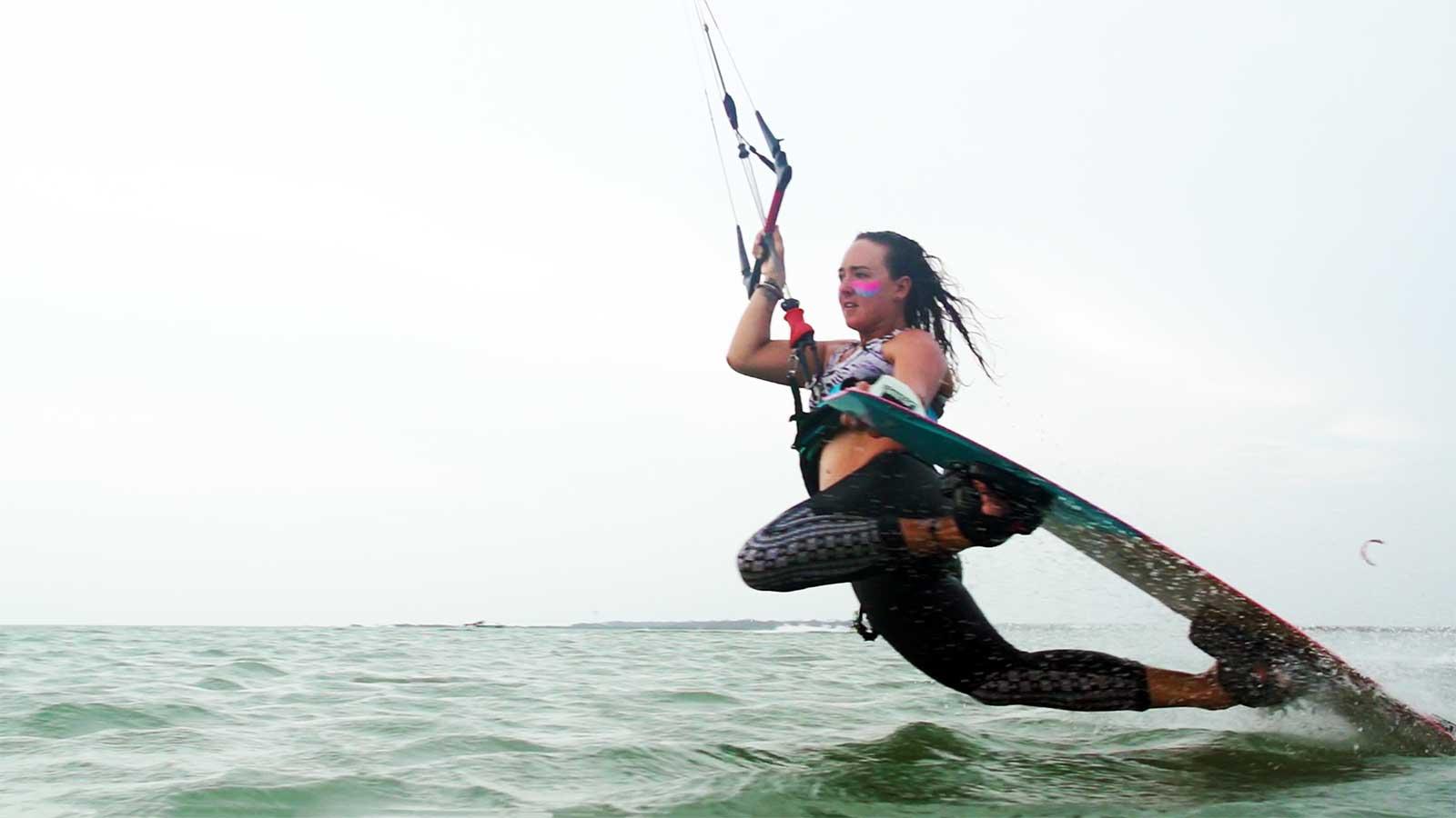Dark Slide tutorial kite surf