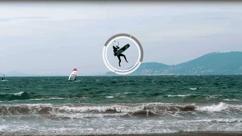 Finire la session come un professionista – Kitesurf video tutorial