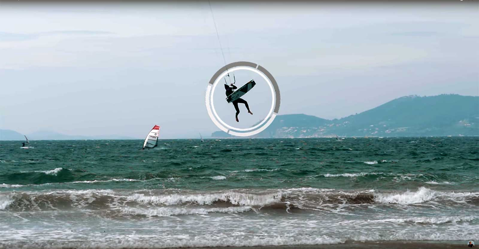 Kitesurf video tutorial