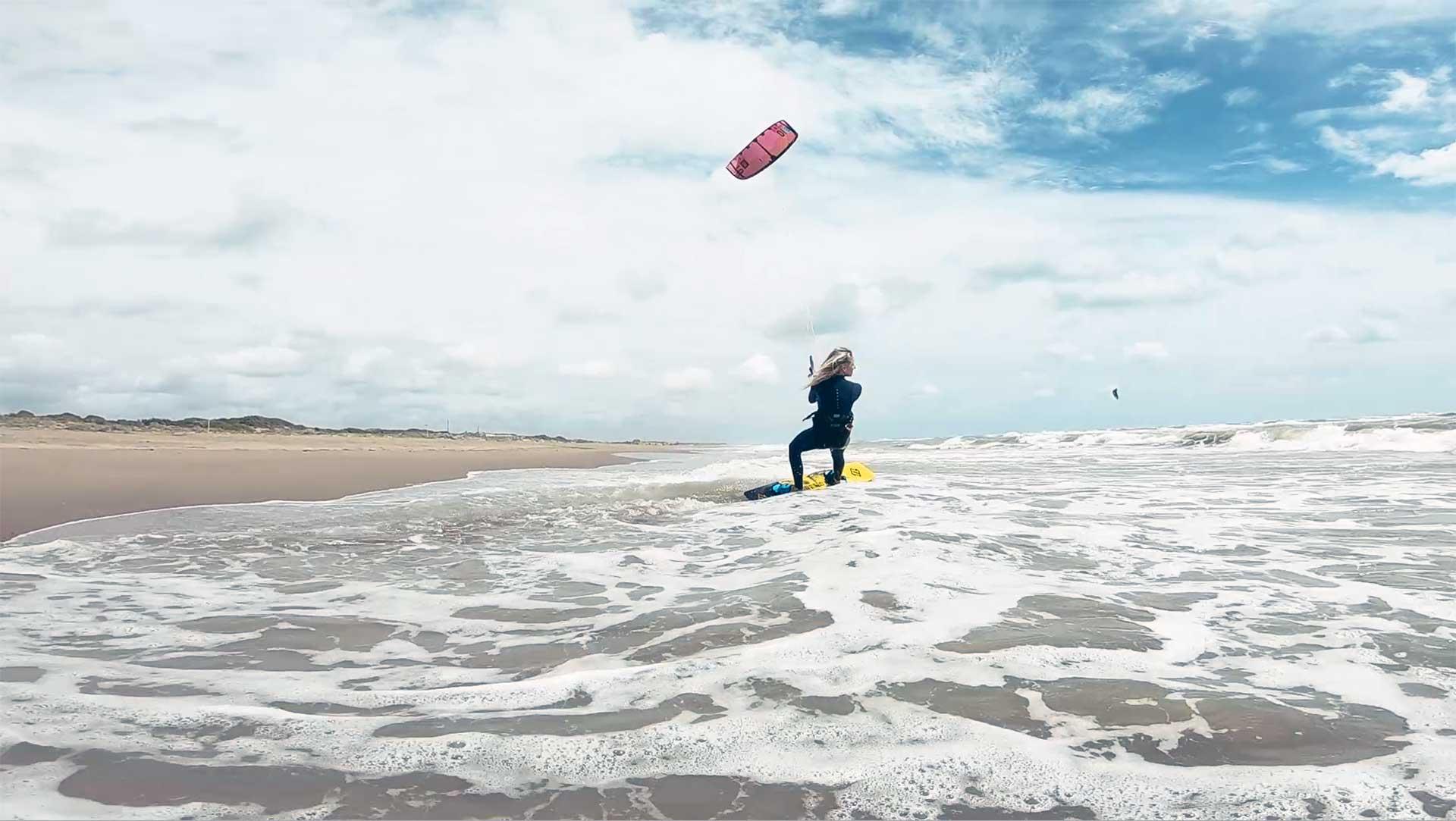 kitesurfing Ostia