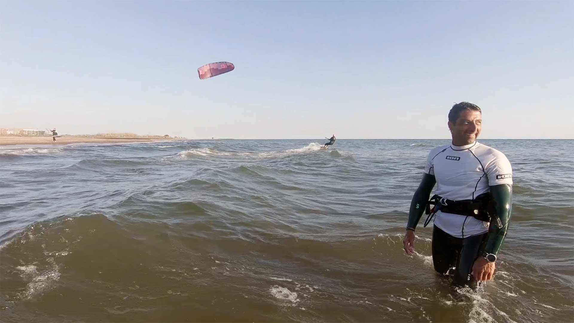 kite surf partenze mono direzionale