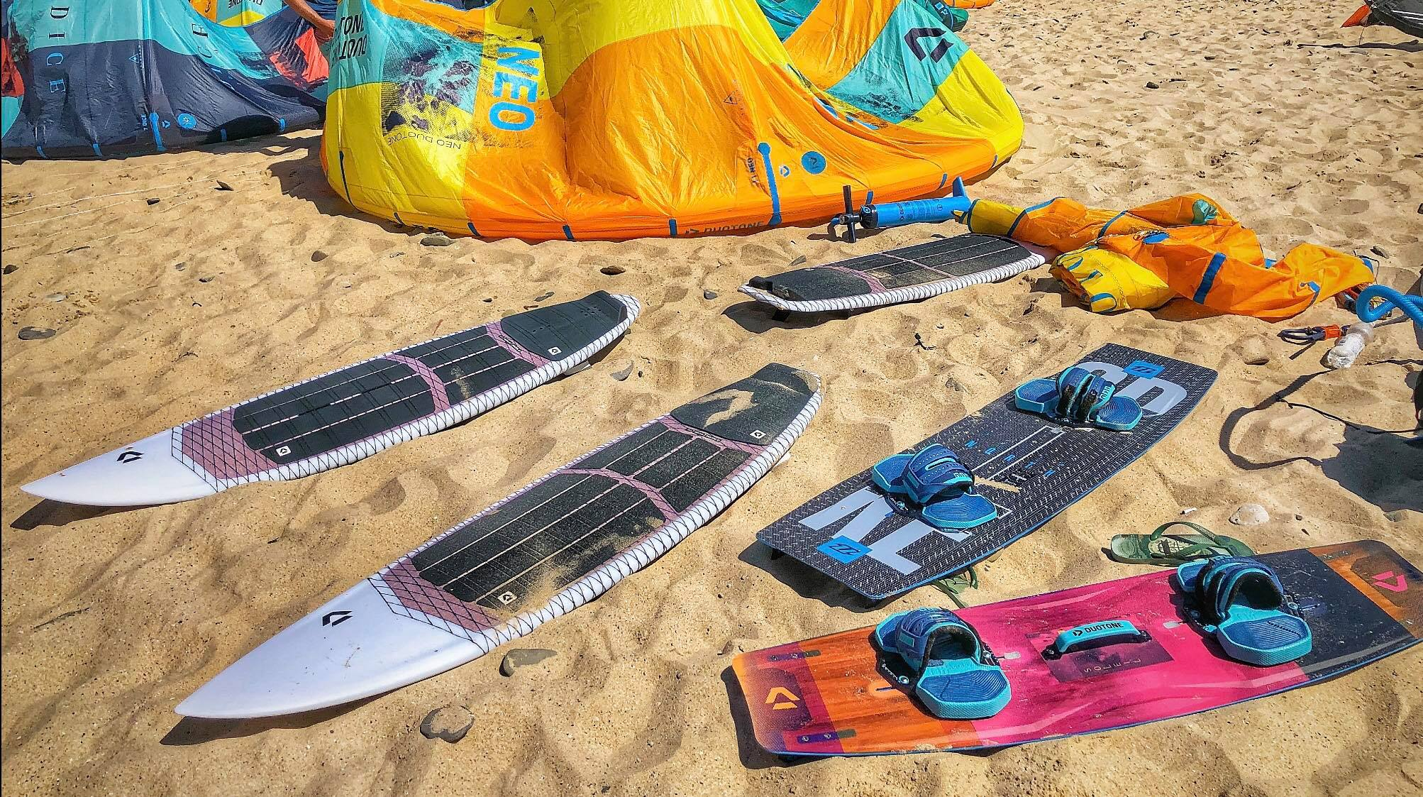 Duotone kiteboarding sport