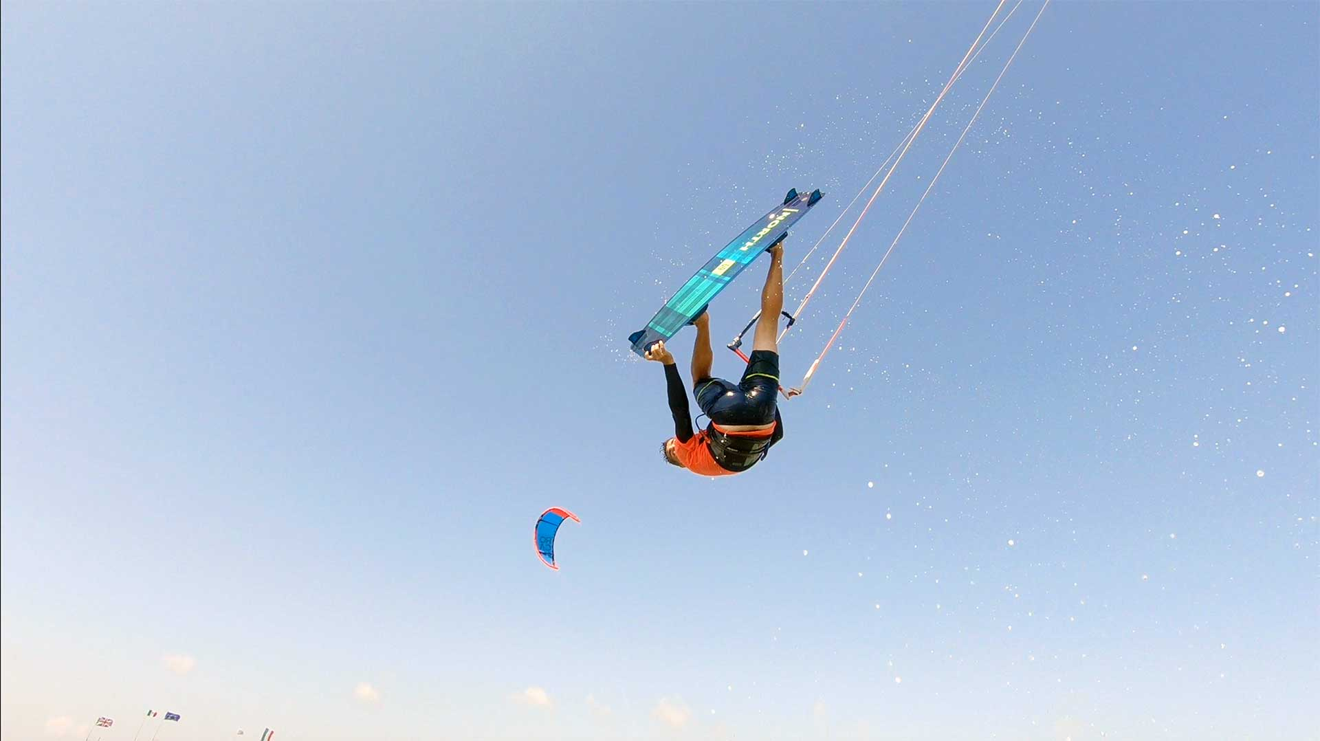 pkr kitesurf video blog big air