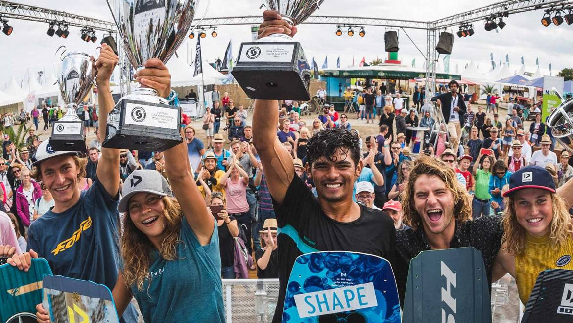 GKA Kiteboarding World Tour 2018 Air Games – Classifiche finali