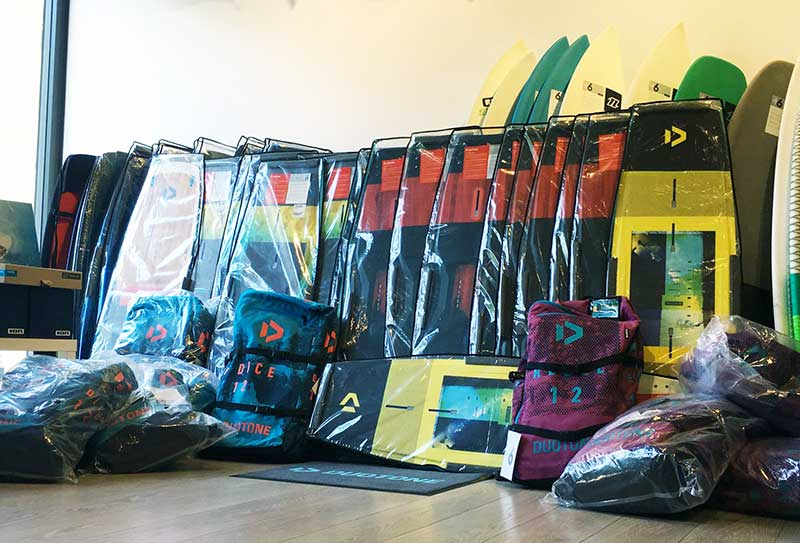 attrezzatura kite