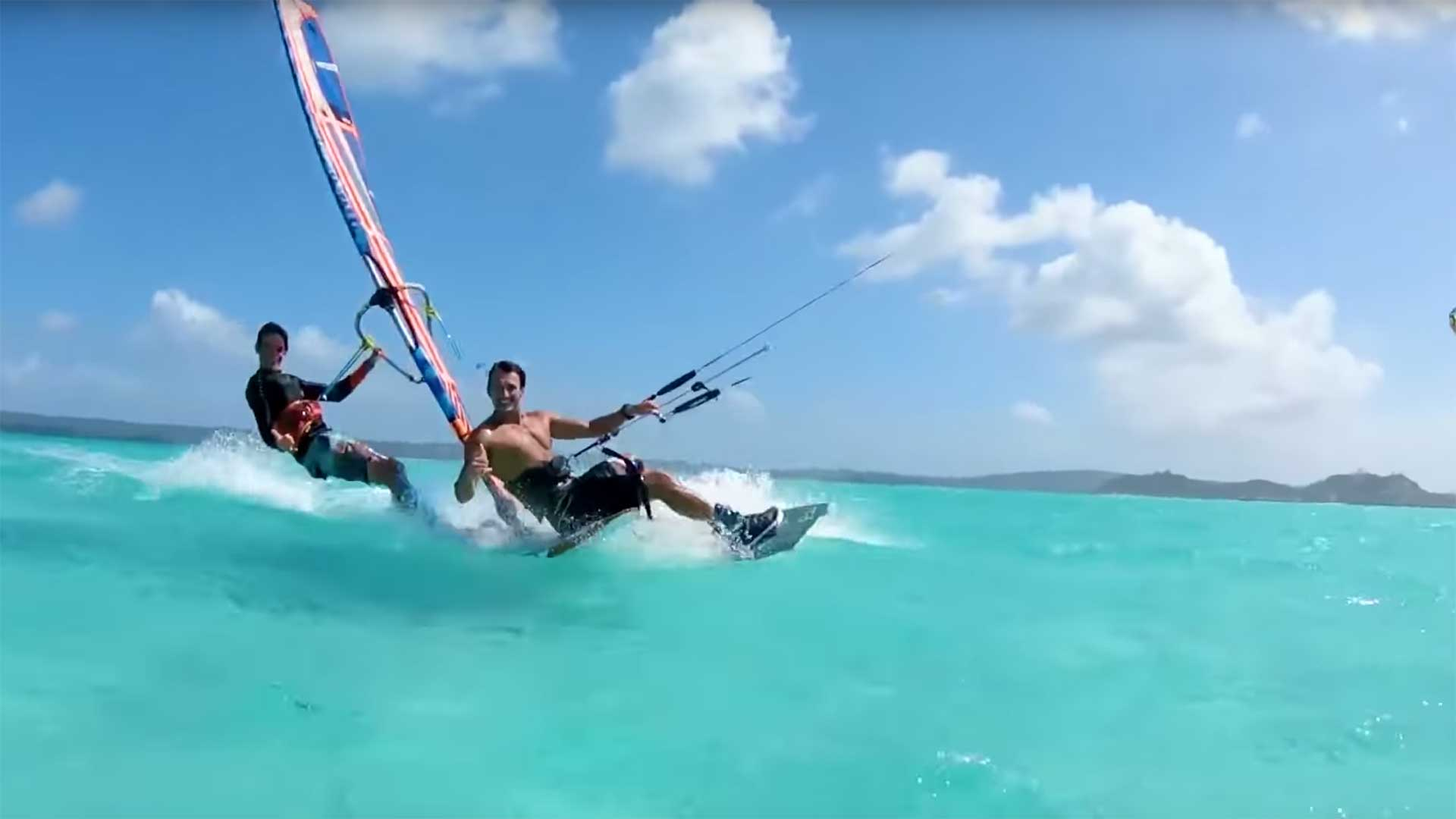Madagascar kite surf spot