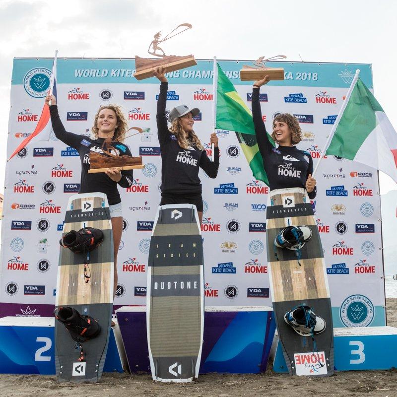 Akyaka 2018 podio donne