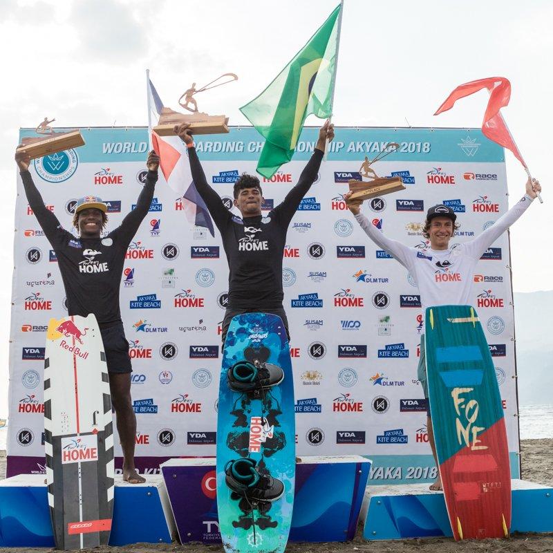 Akyaka 2018 podio uomini