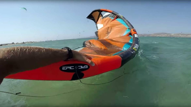 Come recuperare il kite di chi si trova in difficoltà