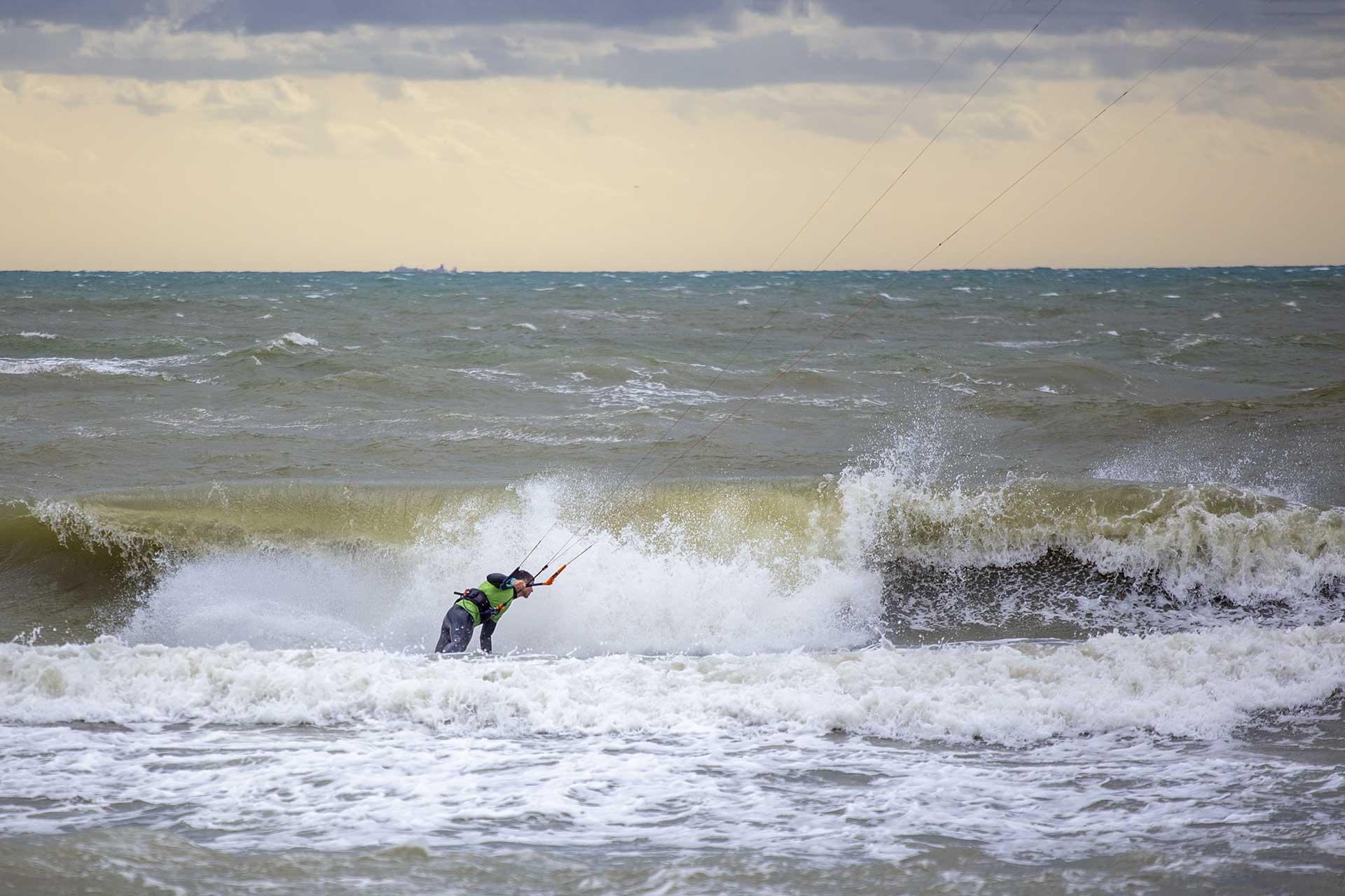 Kitesurf Wave Ostia Lega Navale