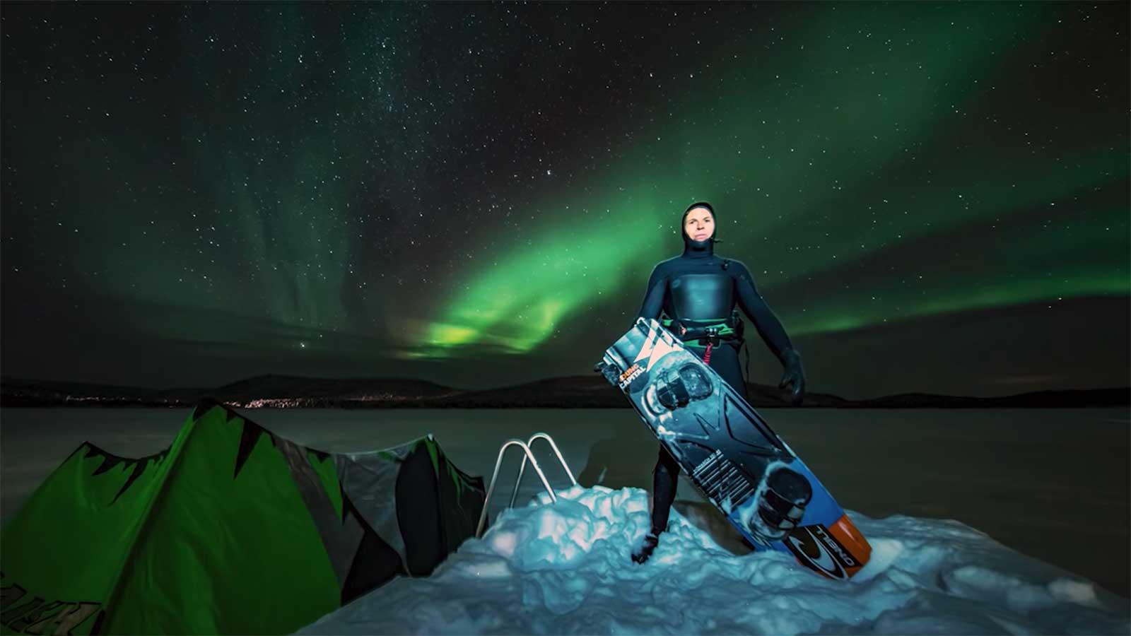 Kitesurf Capo Nord Norvegia