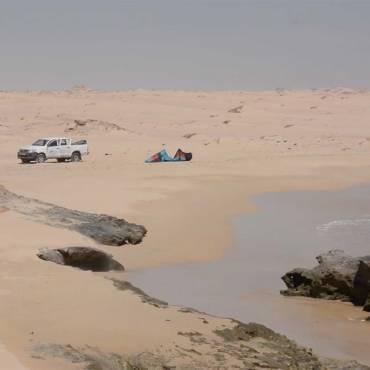 Kitesurf in Mauritania – Racconti di Antoine Clerc