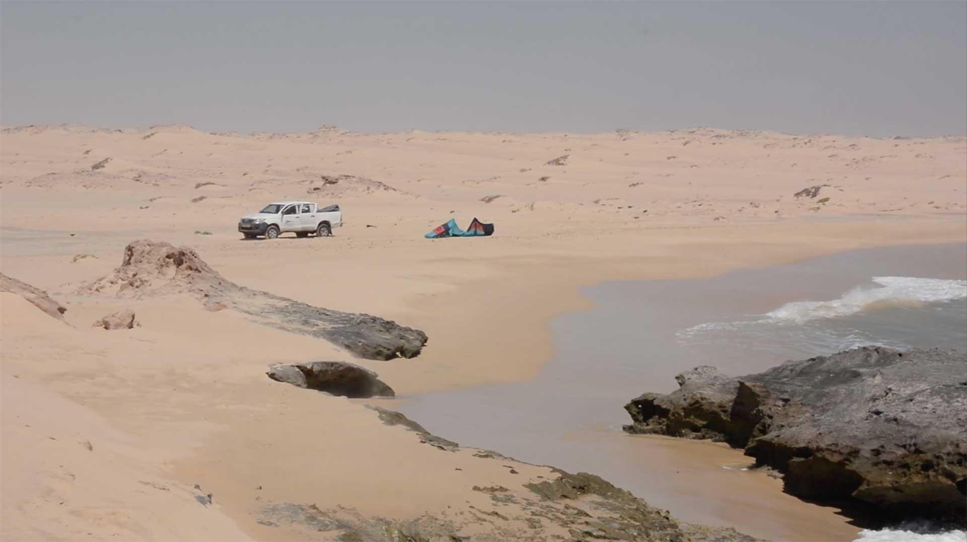 Kitesurf Mauritania