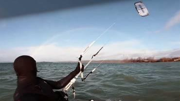 Benjamin Beholz: Kiteloop ed arcobaleno – Kitesurf video Blog