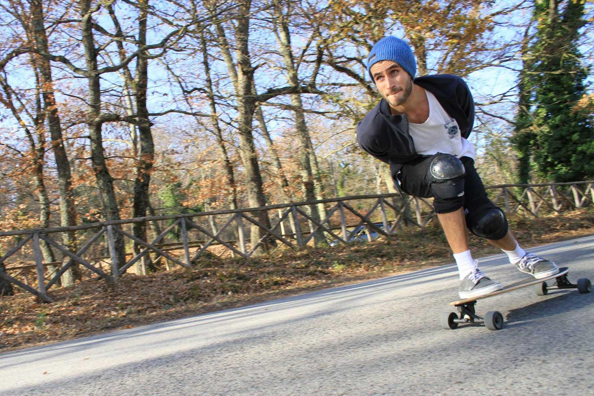 Emanuele Minutello Fumetti Lines Skateboard_11