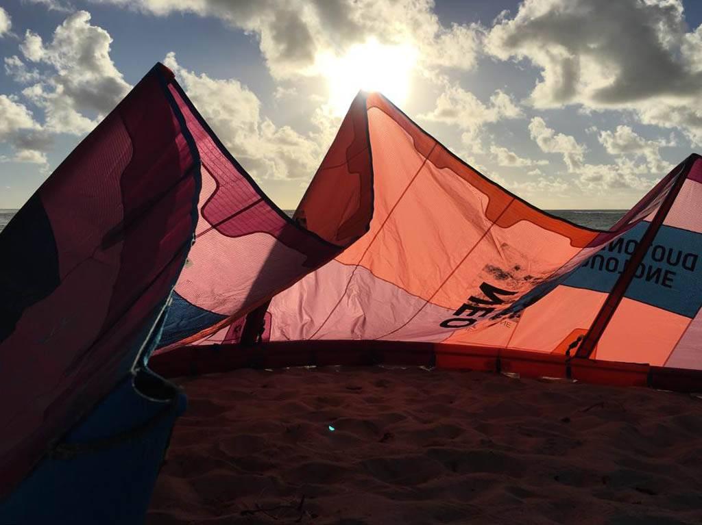 Kitesurf Barbados wave