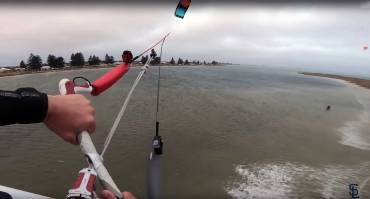 Saltare una penisola larga 70 metri – L'impresa di Sam Light