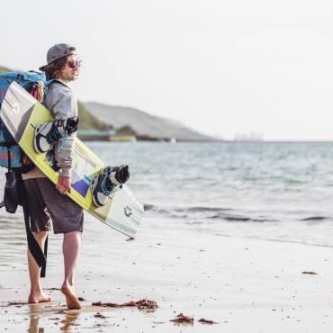 Tom Court racconta il suo 2018 – Infortuni nel kiteboarding