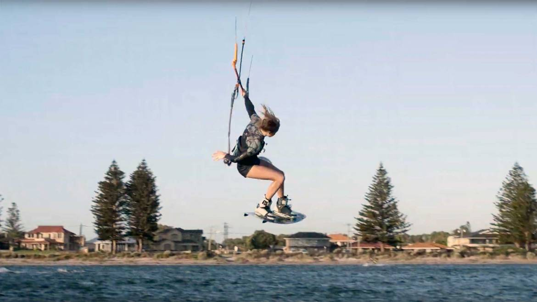 Kitesurf in Australia – Pippa van Iersel Kitesurf  video blog