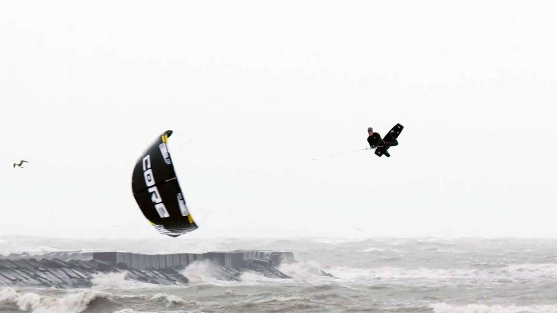 Megaloop con kite basso: il metodo di Maarten Haeger