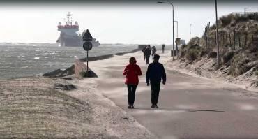 Kitesurf in Olanda nel Mare del Nord – Kevin Langeree video blog