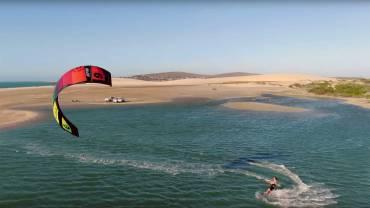 Kiteboarding in Brasile con il Team Slingshot