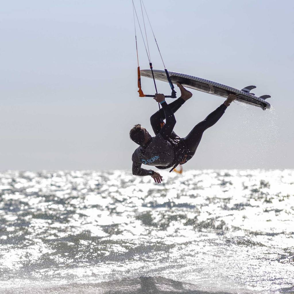 Cerveteri kitesurf Campo di Mare