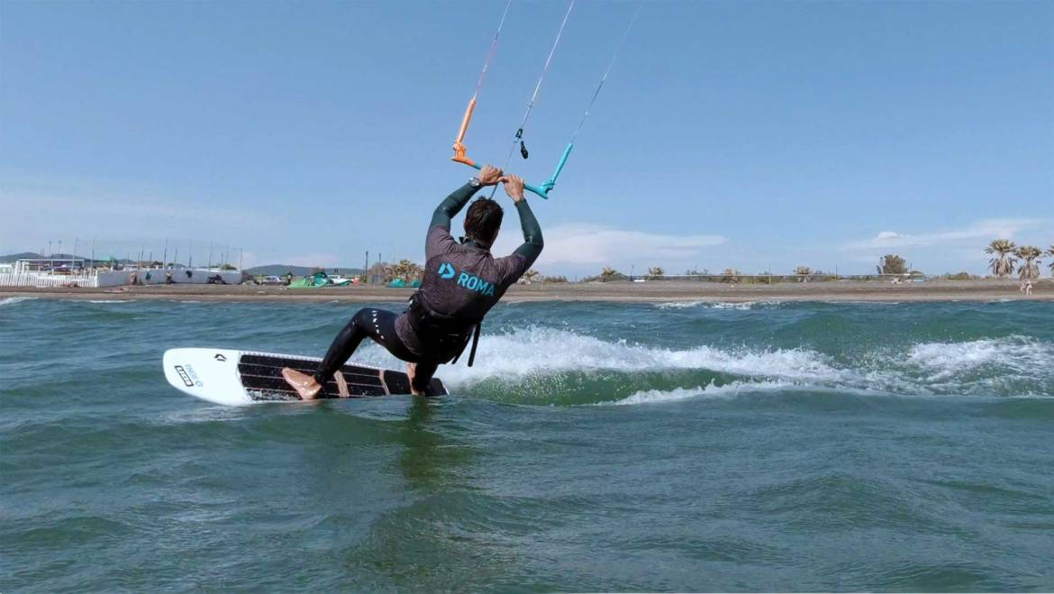 Virata Strapless Surf Tack- Kiteboarding video tutorial