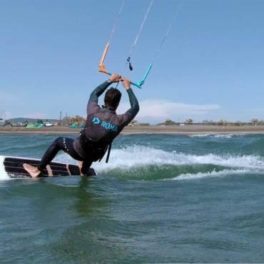 Virata Strapless Surf Tack- Kiteboarding video tutorial