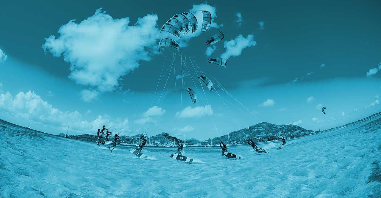 Kiteboarding academy vide