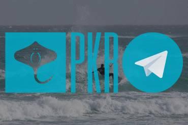 PKR Kitesurf – Tutte le info sulle nostre attività nel canale Telegram