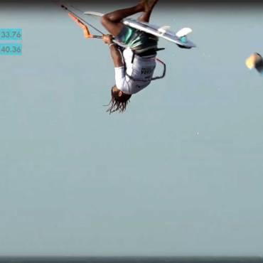 Airton Cozzolino: primo Boogie Loop in una competizione di kitesurf strapless